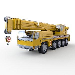 mobile crane model