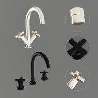 3D wash basin mixer nicolazzi