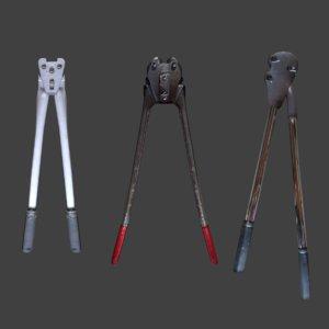 pliers tool 3D model