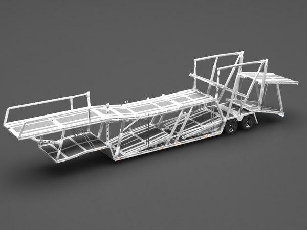 car transporter 3D model