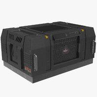 3D sci fi console case