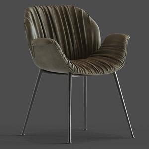 globewest abigail armchair 3D
