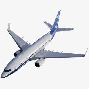 passenger boeing 737 model
