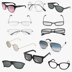 glasses 6 3D model