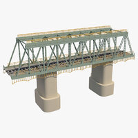 bridge rail railway model