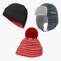 winter hats model