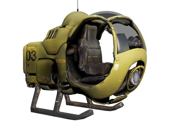age aircraft 3D model