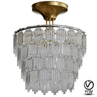 gorgeous elegant chandelier 3D