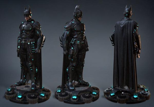 bat superhero movie 3D model