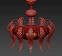 3D barovier toso caladium 5621iu model