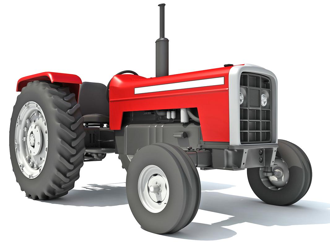 3D classic tractor