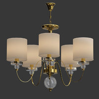 American_Style_5_Arms_Fabric_Lamp