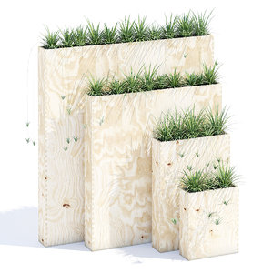 3D plywood box set