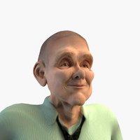 age rigging 3D model