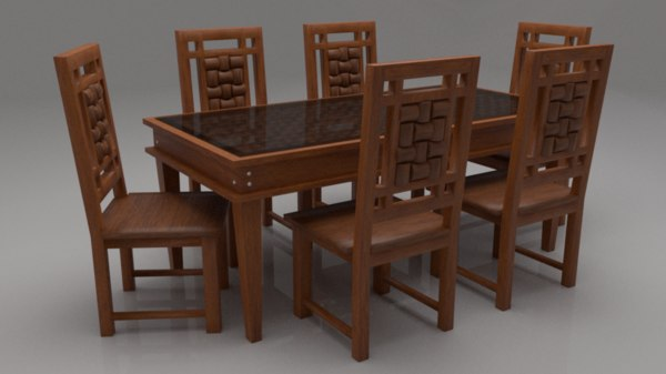 3D woodway solid wood 6