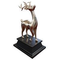 3D deer figurine model