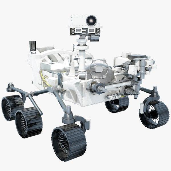 mars 2020 rover model