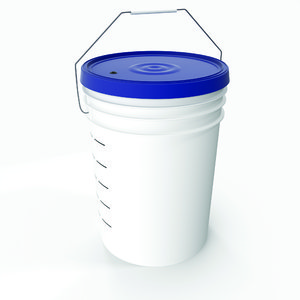 plastic bucket 3D model