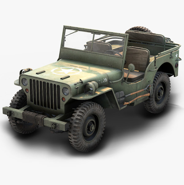 jeep willys 3D