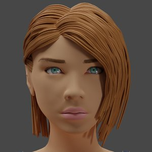 actress 3D model