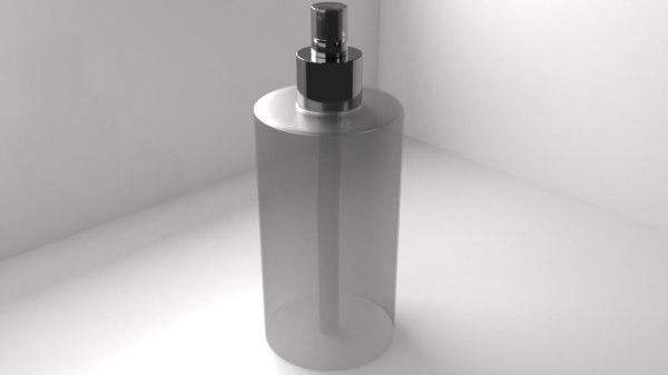 spray bottle 1 - model