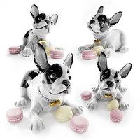 lladro french bulldog macarons 3D model
