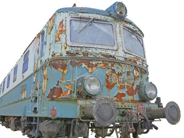 trains locomotives 3D model