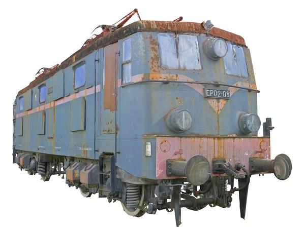 trains locomotives model
