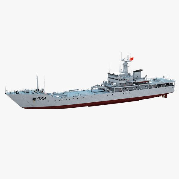 chinese navy type-072iii landing 3D model