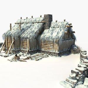 3D snowhouse