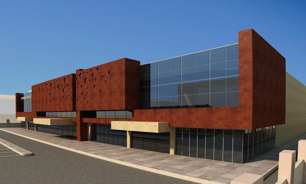 3D building company headquarter