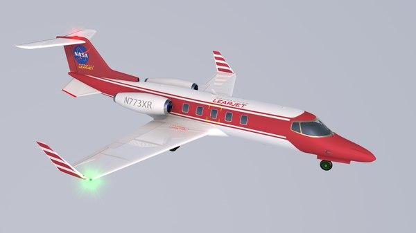 lear jet 3D model
