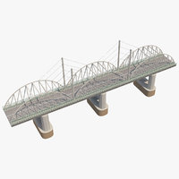 3D bridge road