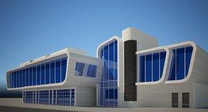 3D building offices
