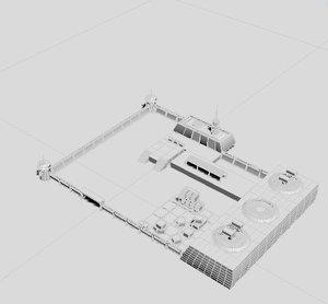 3D model camp