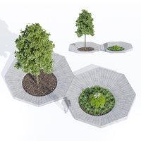 otto concrete escofet 3D model