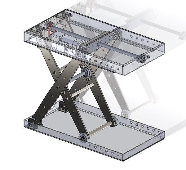 scissor lift model