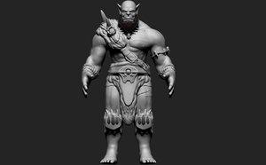 orgrim orc 3D model