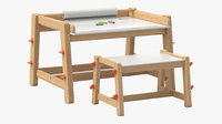 Flisat Children's Desk & Bench by IKEA