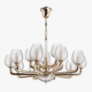 3D 706152 delta osgona chandelier model