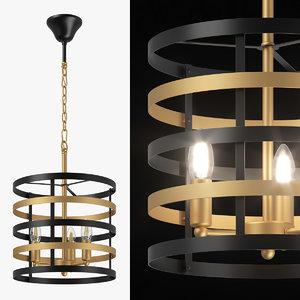 3D 735030 epsilon lightstar chandelier