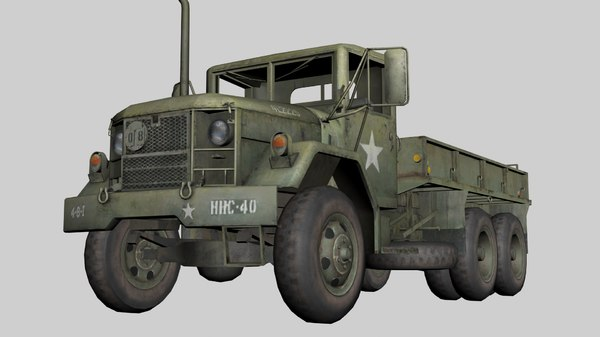 army truck 3D