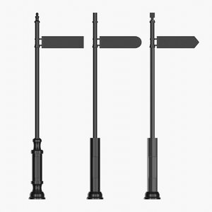 set street pointers 3D model