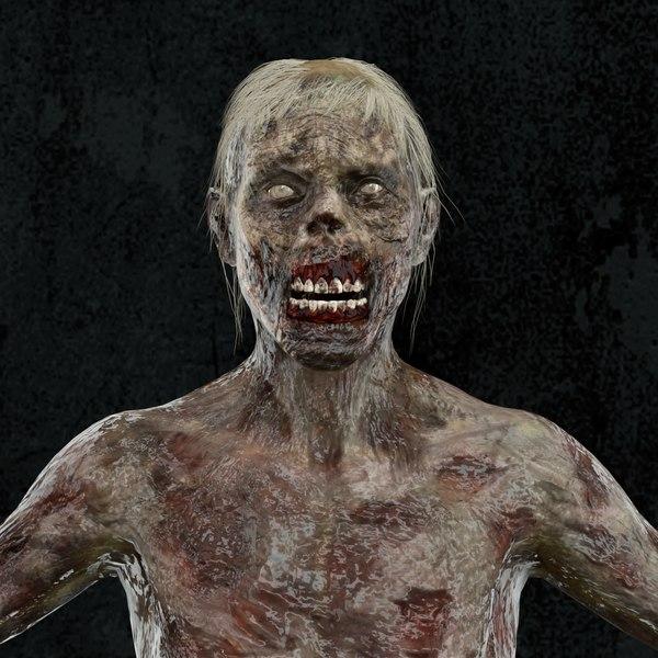 skin rigged model