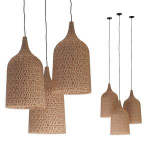 3D model chandeliers rottan set 6