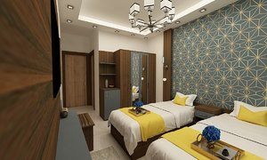 3D hotel room rs