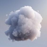 cloud 4 3D model