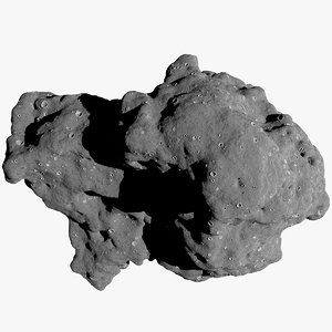 asteroid alfa 15 3D model
