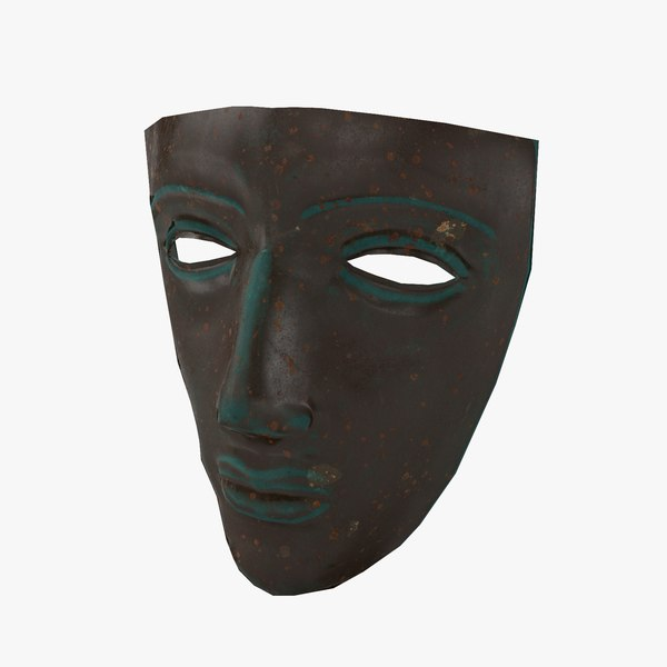 roman mask 3D