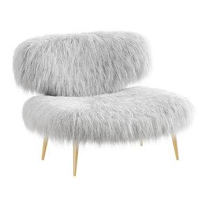 wool woolly bella chair 3D model